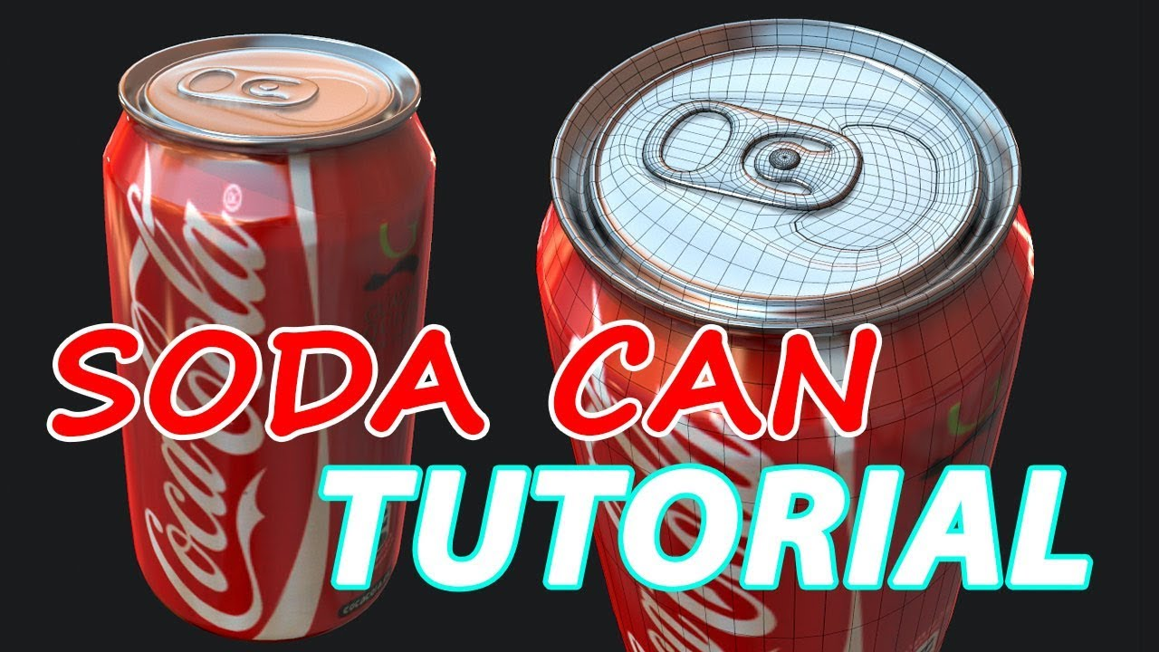 Autodesk Maya 2018 - Soda Can Tutorial