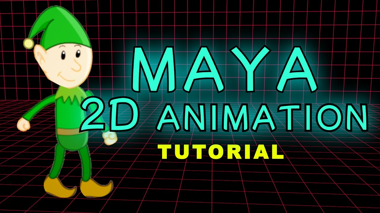 How To Make A 2D Animation Or Cartoon in Maya