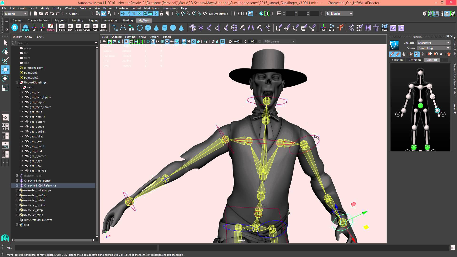Quick Rigging and Skinning a character - Toolfarm