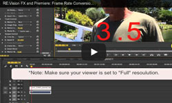 Frame Rate Conversion and Mixed Formats