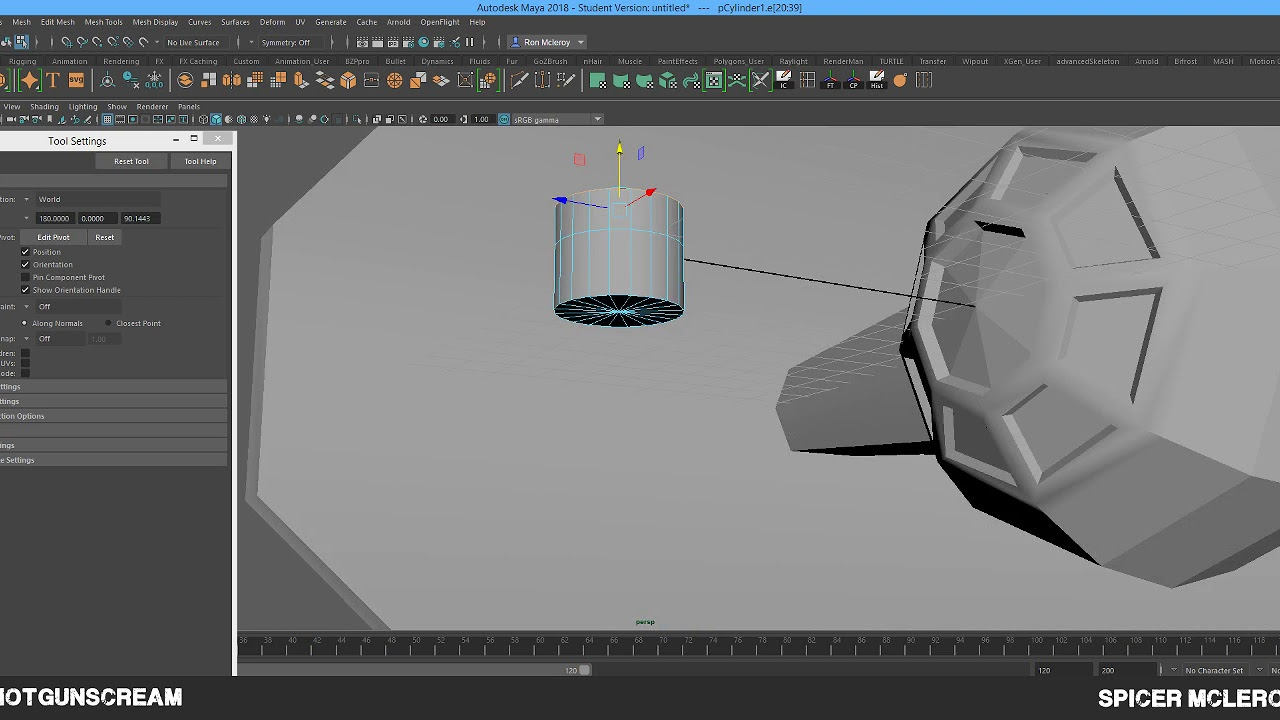 Modeling Basics in Maya 2018