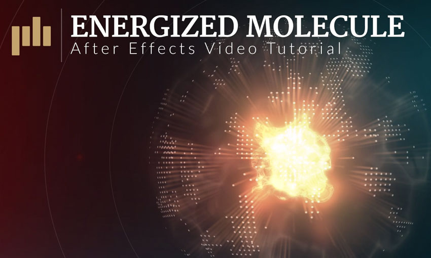 Create an Energized Molecule Effect in After Effects