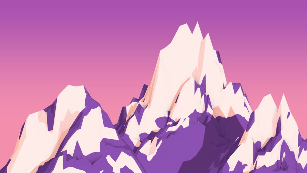 How to Create Cartoon Mountains in Cinema 4D