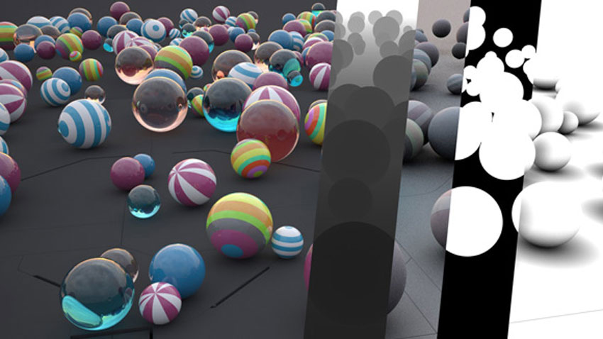 Multipass Rendering in VrayForC4d