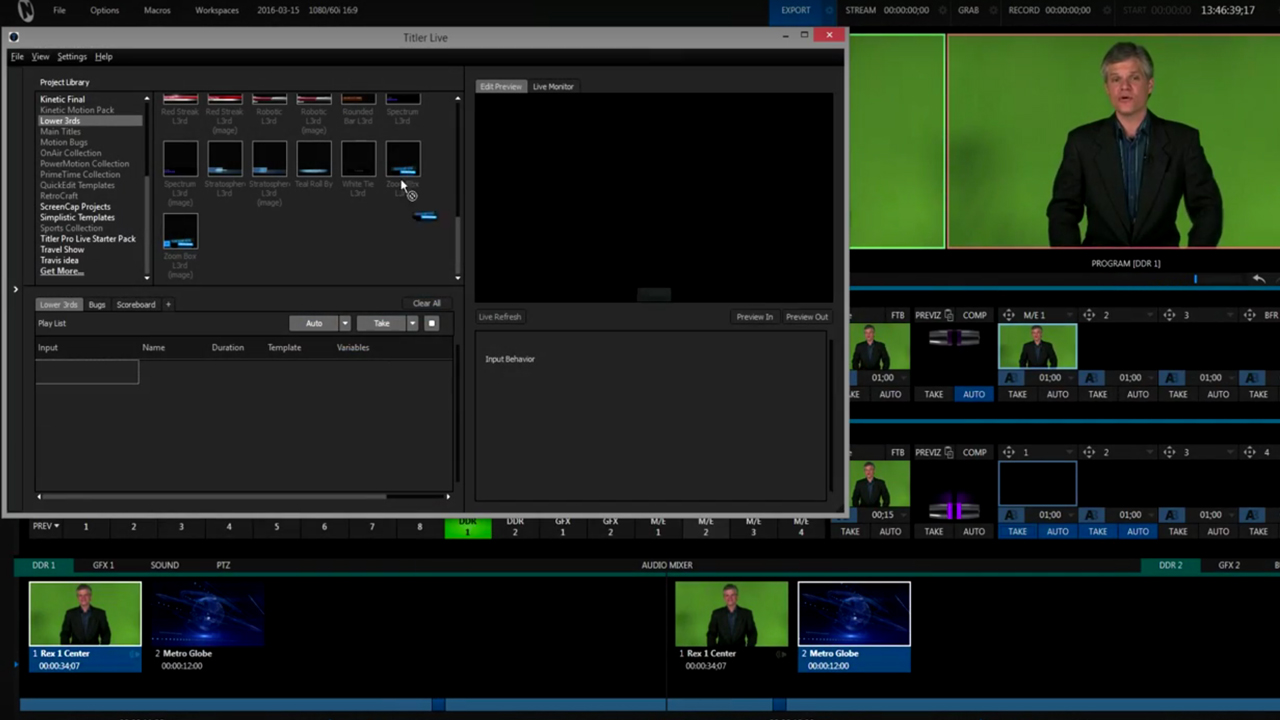 NewBlueFX Titler Live Broadcast Getting Started