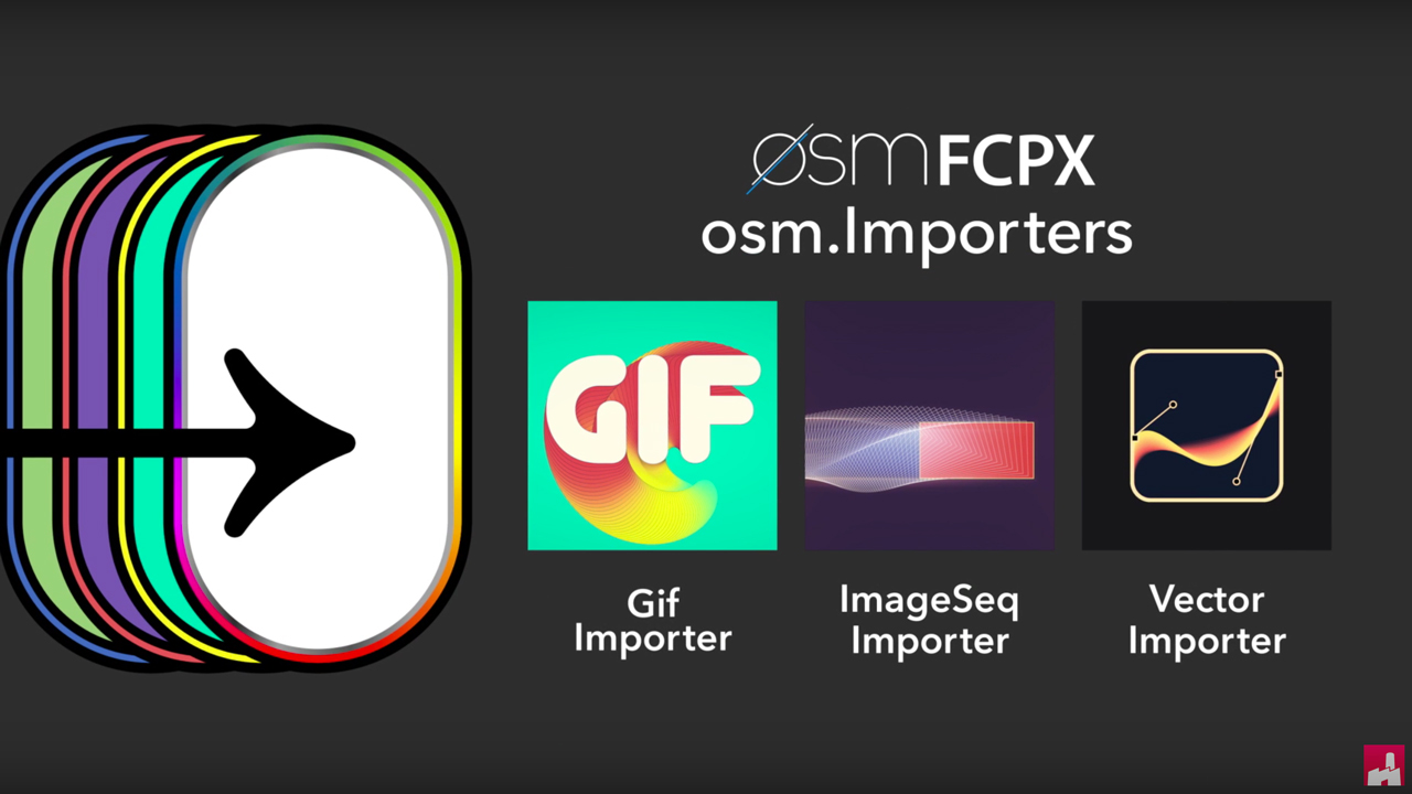 osmFCPX osm.Importers Tutorial #gettingstarted