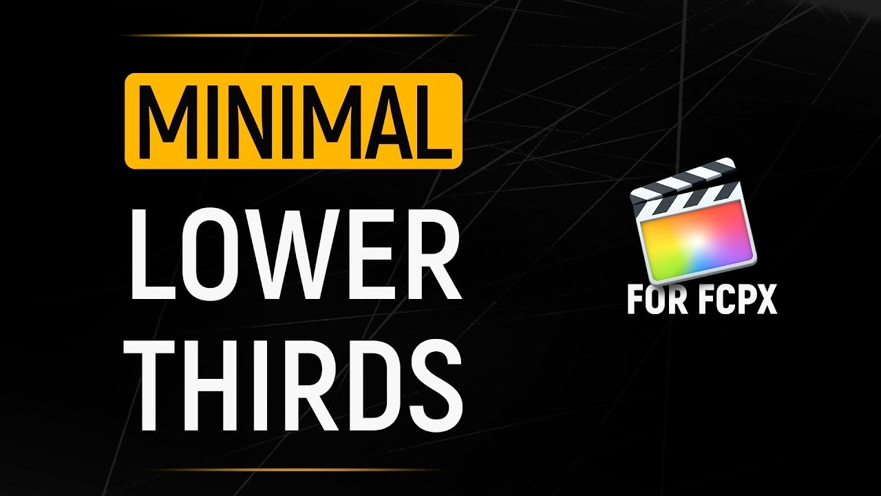 PremiumVFX: Minimal Lower Thirds Tutorial