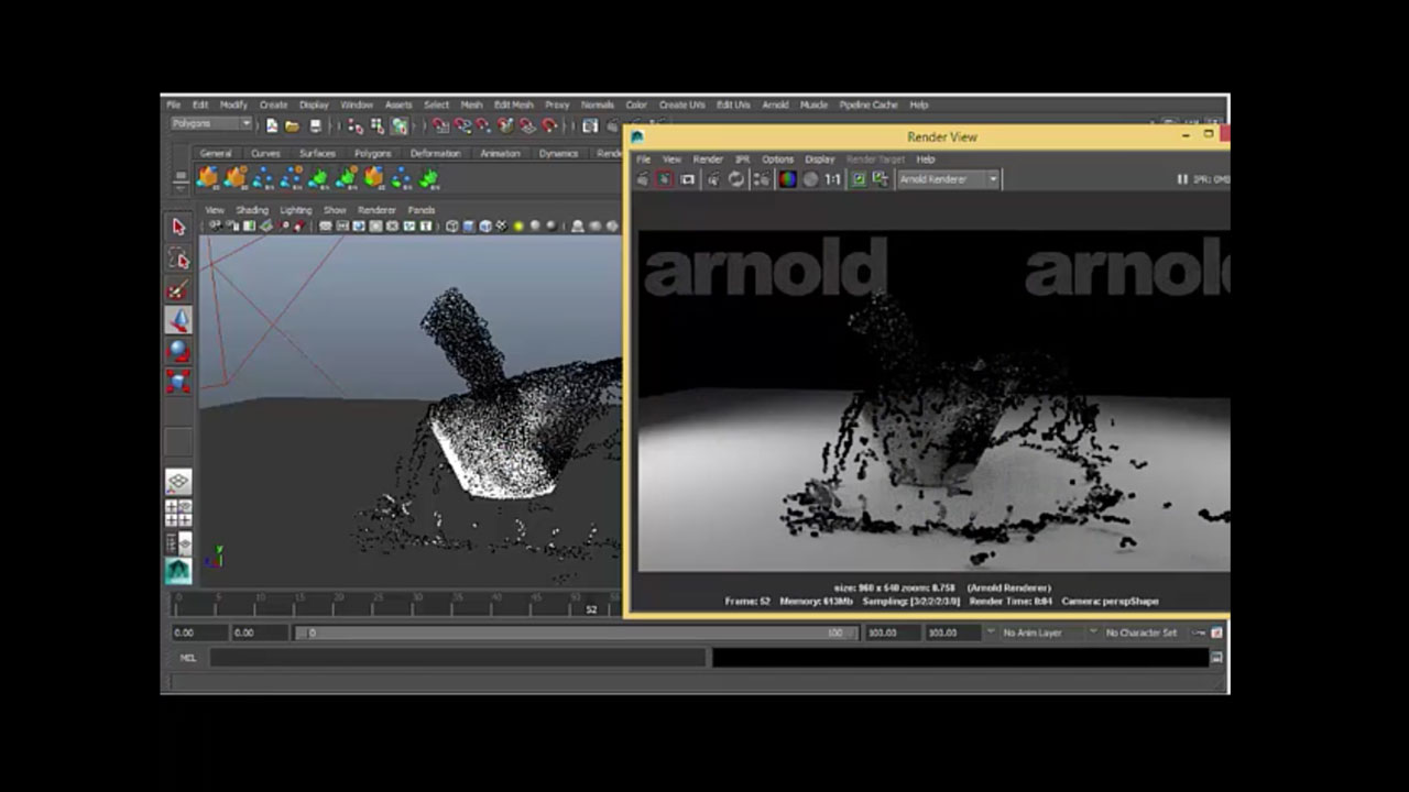 RealFlow Particle Channels in Maya