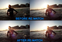 Using RE:Vision Effects RE:Match:Pro; Matching Color From Separate Cameras/ Settings