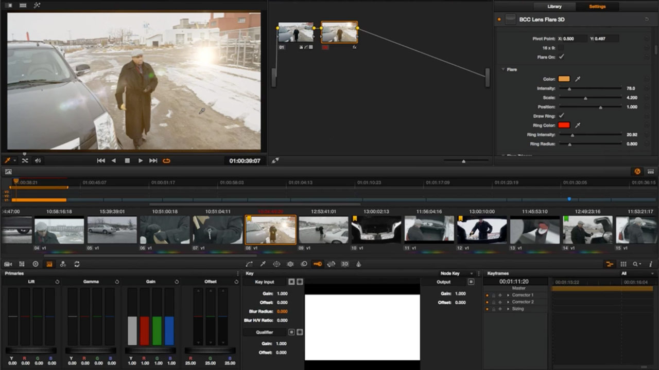 Advanced Finishing in Resolve 11