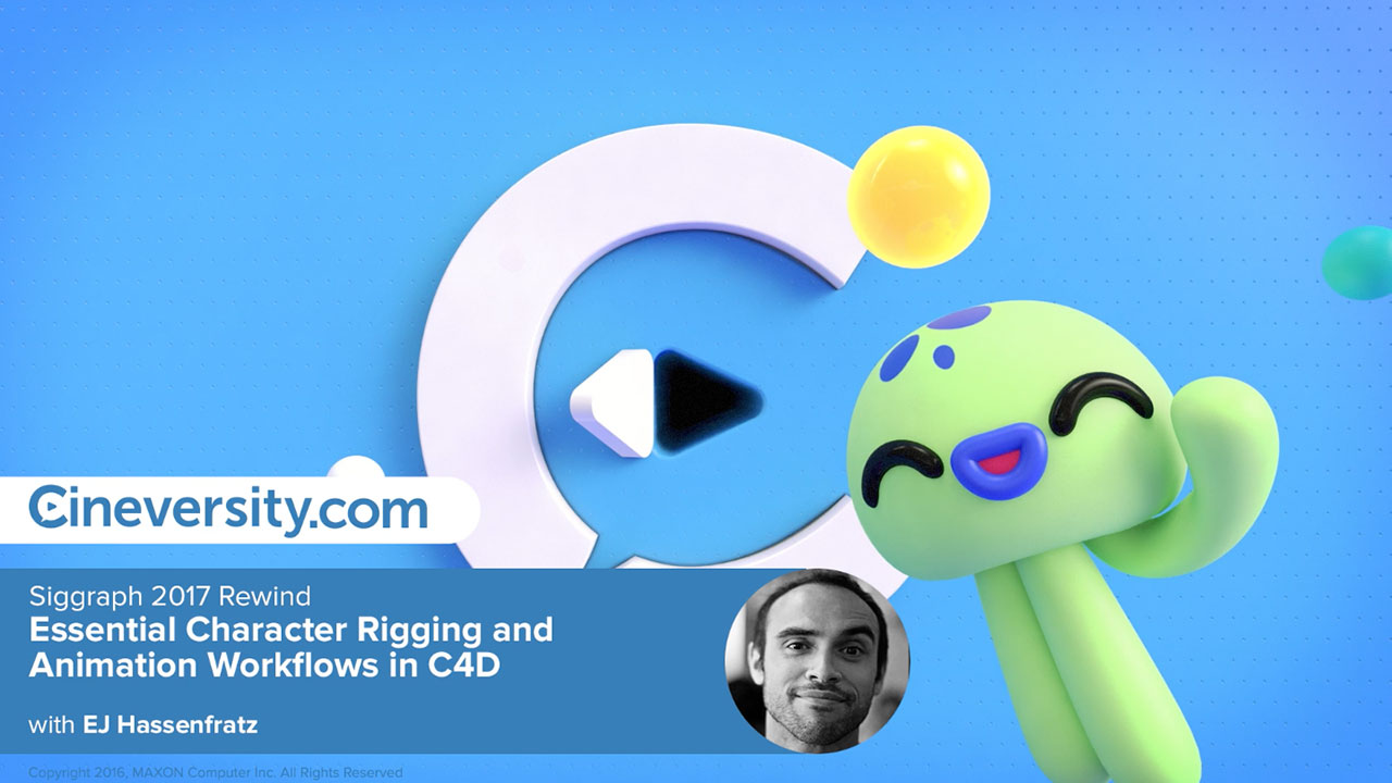 Essential Character Rigging and Animation Workflows in C4D