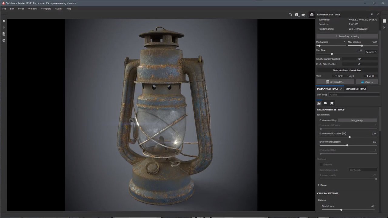 Substance Painter 2018 Course Introduction