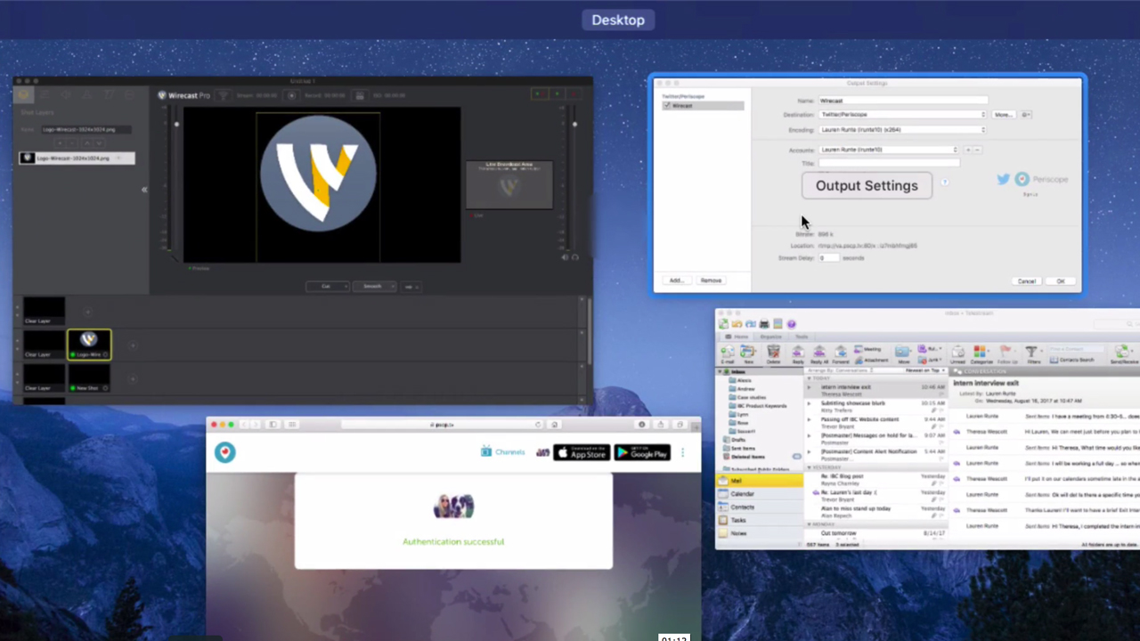 Telestream Wirecast: Streaming Live How-To