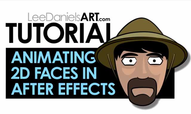 Tutorial: Animating 2D Cartoon Faces in After Effects