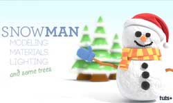 Tutorial: Create a Stylized Snowman and Xpresso Driven Trees in CINEMA 4D