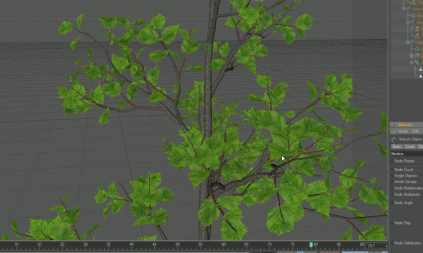 Tutorial: Animating Growth with Xfrog Plants