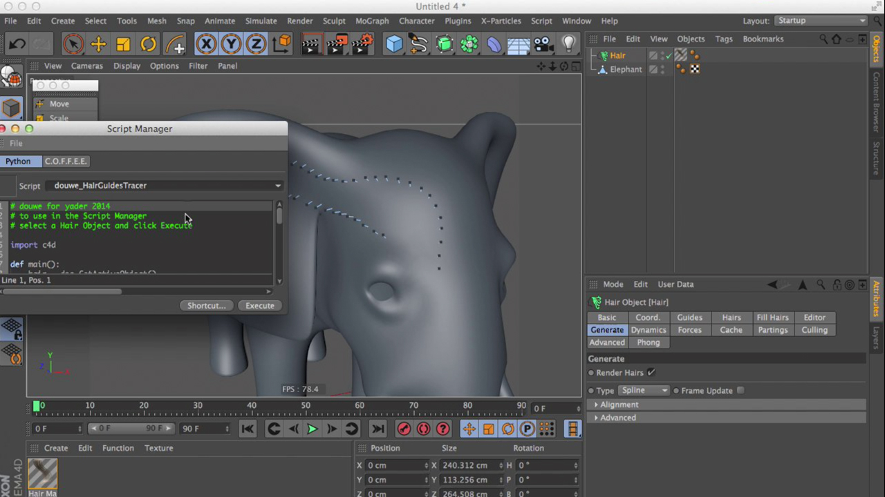 Quick Tips for Cinema 4D