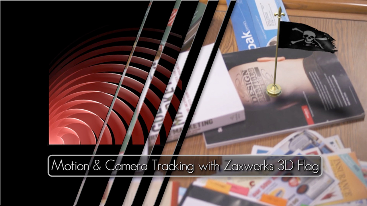After Effects: Motion Tracking with Zaxwerks 3D Flag