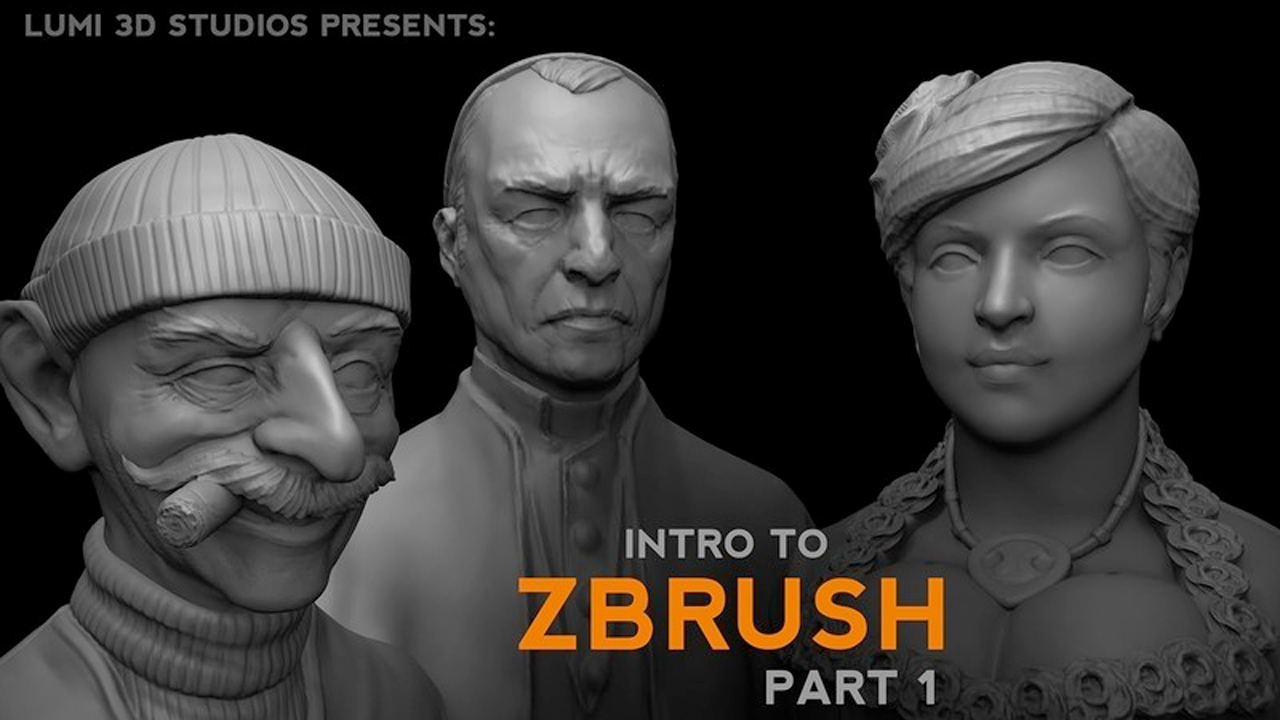 Pixologic ZBrush: Free Video Intro Guide to ZBrush