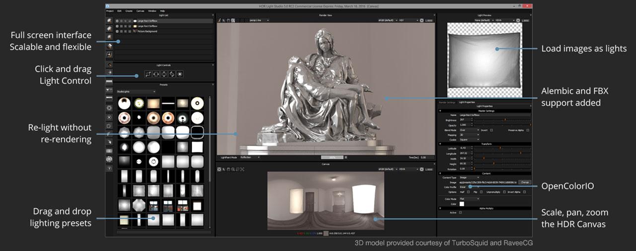 HDR light studio new stuff