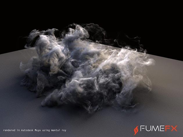 New: Sitni Sati FumeFX for Maya - Toolfarm