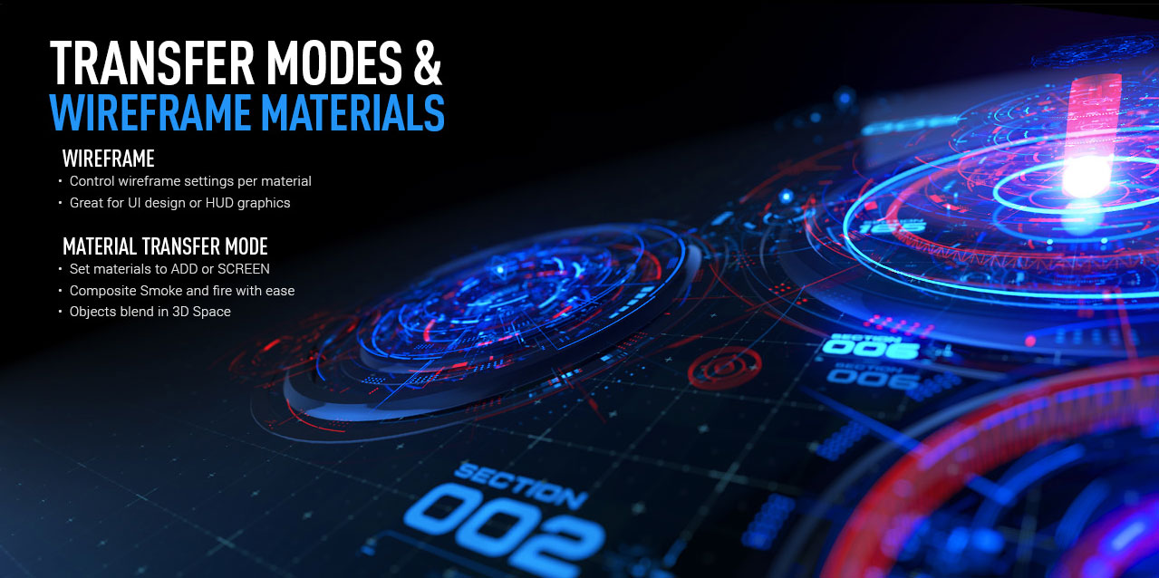video copilot element 3d transfer modes