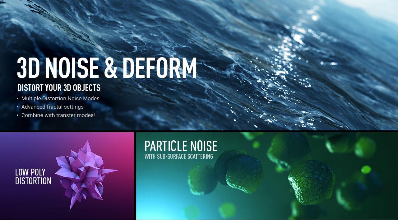 3d noise & deform