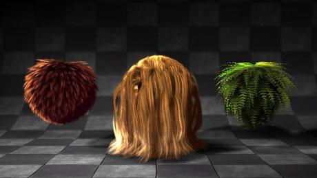 furryball hair