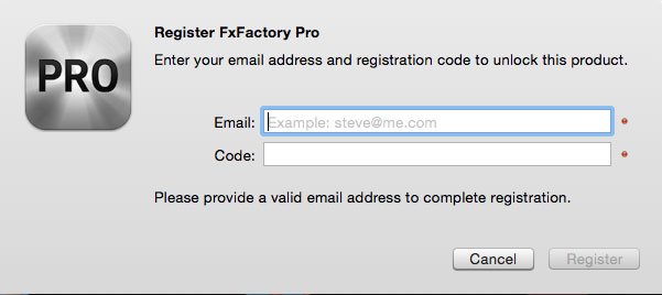 fxfactory pro 7.1.1 serial number