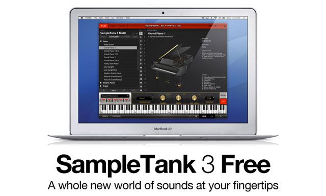 Freebie: IK Multimedia SampleTank 3 Free