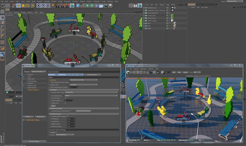 Octane Render for MAXON Cinema 4D Training - Toolfarm