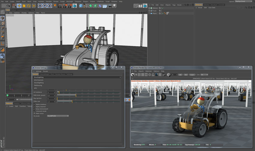 Octane Render for MAXON Cinema 4D Training - Toolfarm