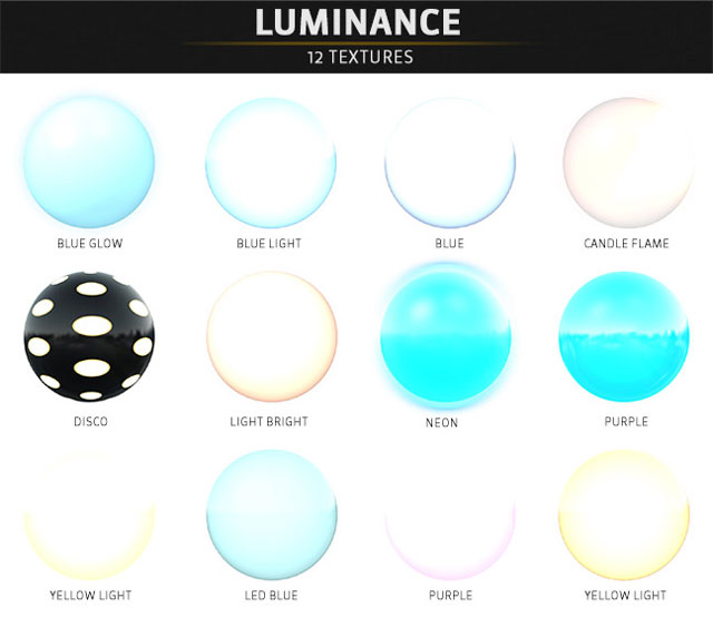pixel lab materials pack luminance