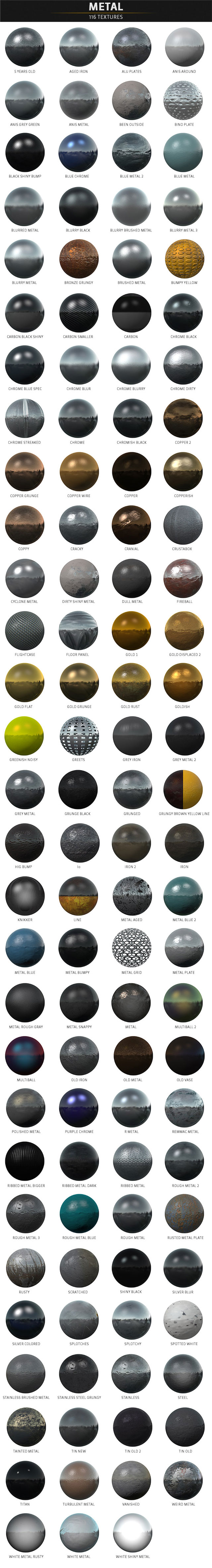 pixel lab materials pack metal