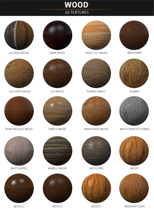 pixel labe materials pack wood