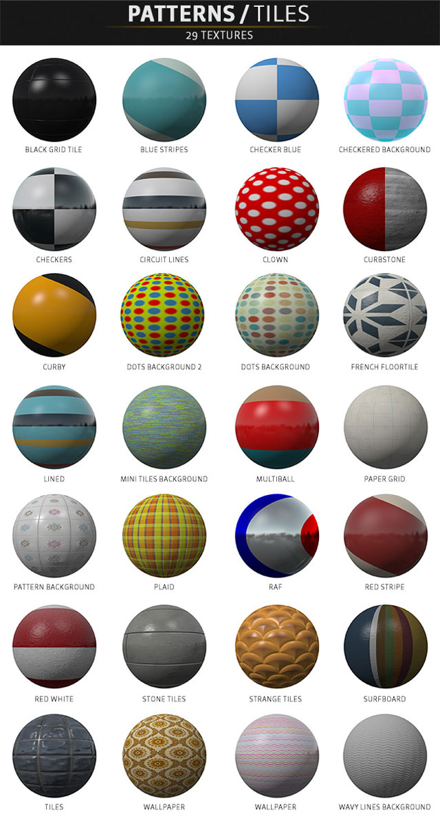 pixel lab materials pack patterns