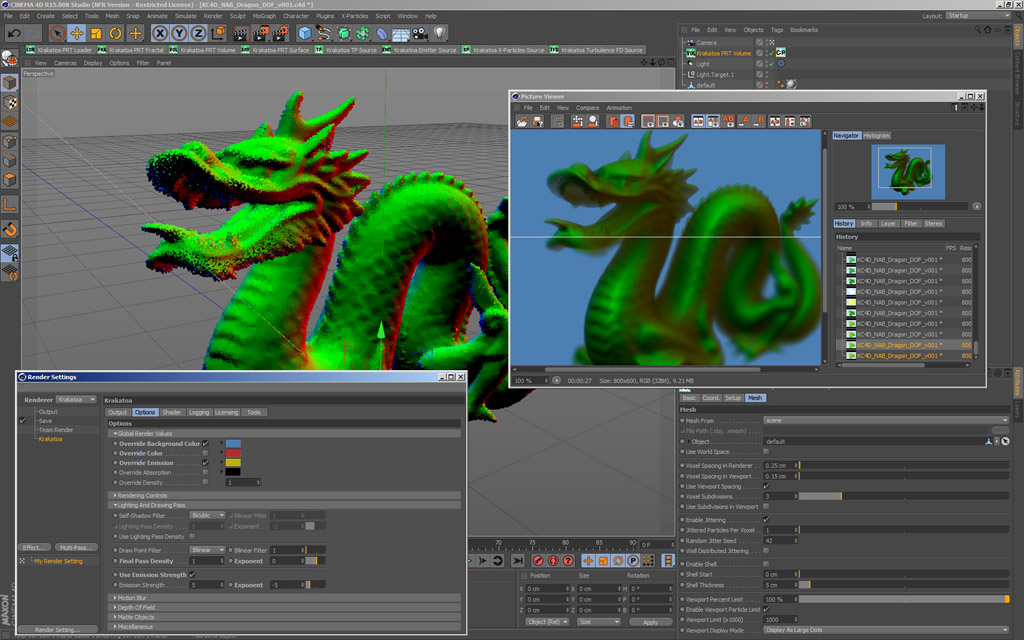 Tutorial: Krakatoa for CINEMA 4D Webinars