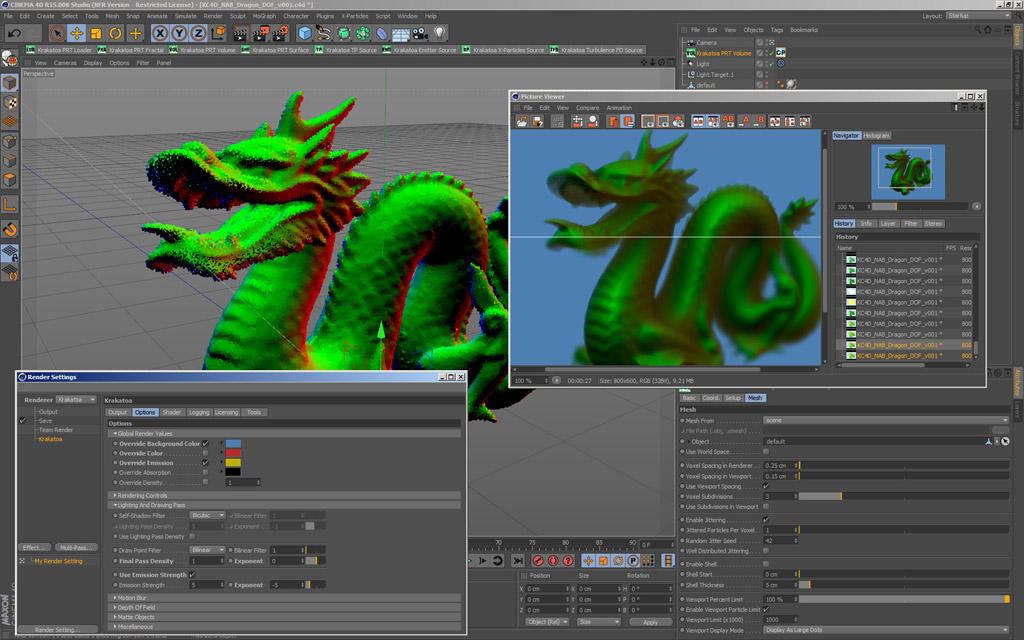 Tutorial: Krakatoa for CINEMA 4D Webinars