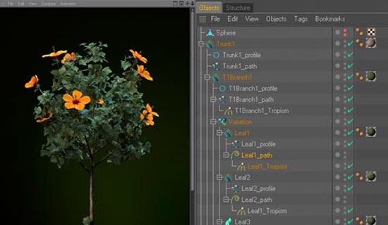 New: Xfrog for Maxon Cinema 4D: Create and Animate 3d Nature and