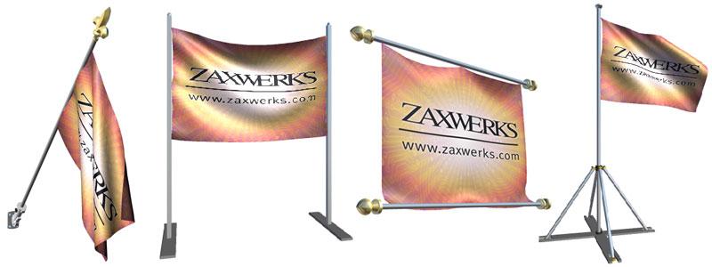 Flag Poles & End caps