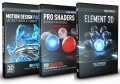 Video Copilot 3D Design Bundle (Element 3D + Motion Design Pack + Pro Shaders)