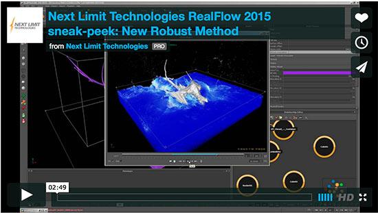 next limit realflow 2015 sneak peek videos