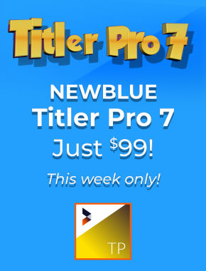 newblue title pro sale